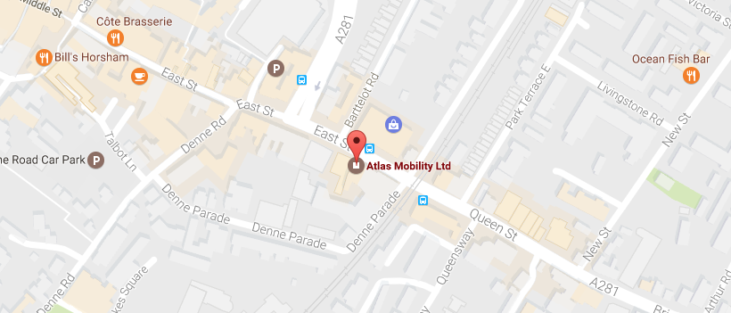Map of Atlas Mobility